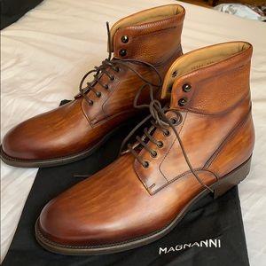 514588f1f2e NEW Magnanni Peyton Cap Toe Boot (Size 11.5)